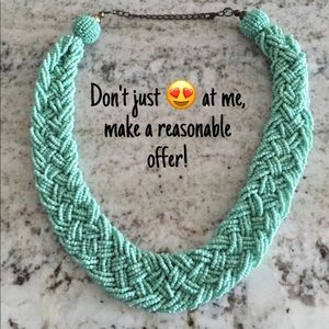 Mint beaded necklace from Charming Charming